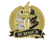 Bright Gold Academic Science Lapel Pin Lapel Pins