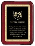 Rosewood Piano  Finish Plaque Achievement Awards