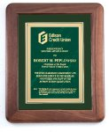 Genuine Walnut Frame with a Satin Finish Achievement Awards