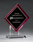 Digitally Printed Diamond Award Achievement Awards