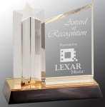 Star Column with Acrylic Plaque Achievement Awards