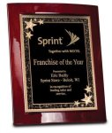 Rosewood Piano Finish Eclipse Plaque Achievement Awards