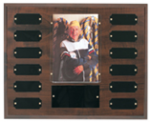Cherry Finish Photo Perpetual Plaque Achievement Awards