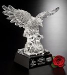Majestic Eagle Glass Award Achievement Awards