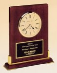 Desk Rosewood Piano Finish Clock Boss Gift Awards