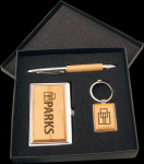 Maple Finish Gift Set Boss Gift Awards