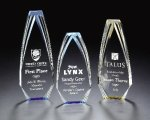 Acrylic Red Obelisk Award Employee Awards