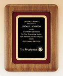 American Walnut Frame Plaque Employee Awards