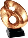 Gold Art Sculpture Award Employee Awards