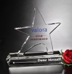 Prestige Star Crystal Award Employee Awards