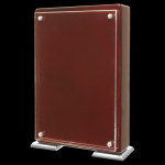 Rosewood Piano Finish Stand-UP with Magnetic Standoffs Employee Awards