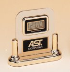 Acrylic Clock With LCD Movement Executive Gift Awards
