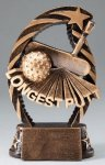 Golf Longest Putt Resin Trophy Golf Awards