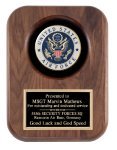 Walnut Air Force Insignia Plaaue Patriotic Awards