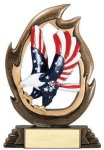 Flame Series -Eagle Patriotic Awards
