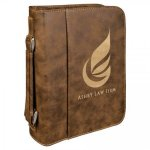 Rustic/Gold Leatherette Bible/Book Cover Religious Awards