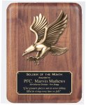 Solid American Walnut Plaque Sales Awards