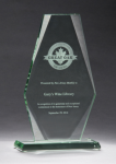 Premium Series Jade Glass Award Sales Awards