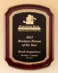 Rosewood Piano Finish Plaque Sales Awards