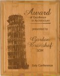 Bamboo Recognition Plaque Sales Awards